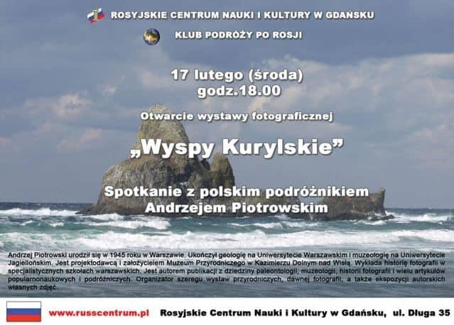 """Wystawa pt. """"Wyspy Kurylskie"""""""
